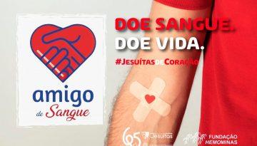 """Amor ao próximo: antigos alunos desenvolvem o projeto """"Amigo de Sangue"""""""