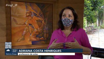 Homenagem à professora Adriana Costa Henriques