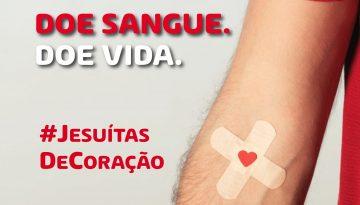 Colégio dos Jesuítas incentiva doação de sangue