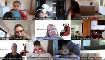 Atividade de formação: estudantes da Pré-Escola refletem sobre a importância do diálogo e do valor da amizade