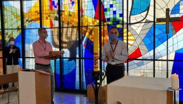 Aniversário do Diretor Acadêmico do Colégio é celebrado com Oração
