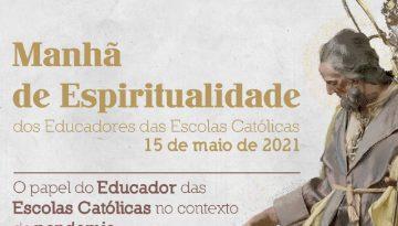 Manhã de Espiritualidade é marcada por reflexões sobre o papel do educador cristão