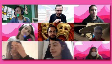 Grupo InaciArtes promove encontro remoto entre estudantes do 1º ano Médio/Integral